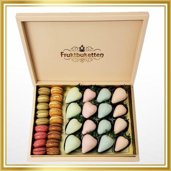 jordgubb macaron box